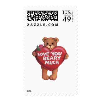 Love You Beary Much products Stamp