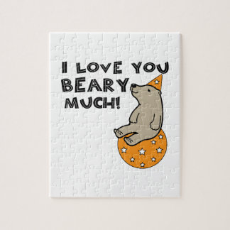 Love You Beary Much Jigsaw Puzzles