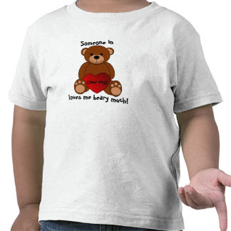 """""""Love You Beary Much"""" Toddler T-Shirt"""