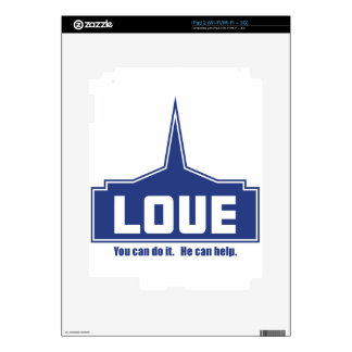 Love: You can do it Decal For iPad 2