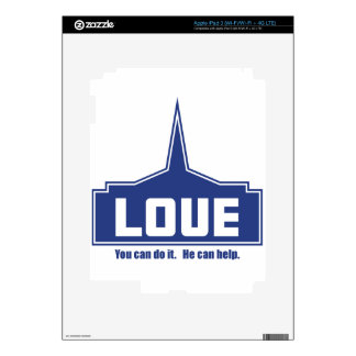 Love: You can do it Decals For iPad 3
