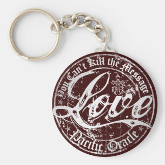 LOVE - You Can't Kill the Message Key Chain