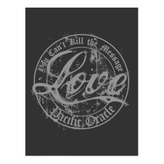 Love - You Can't Kill the Message Postcard