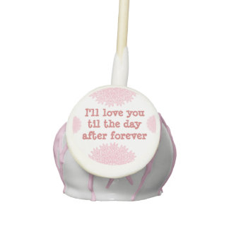 Love You Chocolate Cake Pops