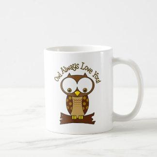 Love You Classic White Coffee Mug