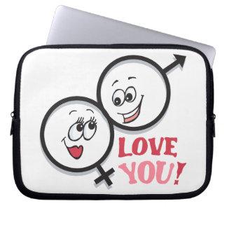Love You Computer Sleeve