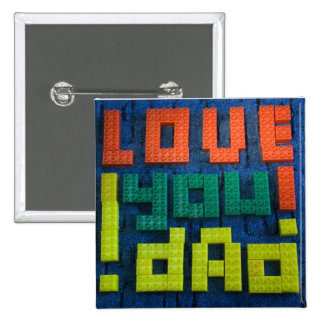 Love You Dad Buttons