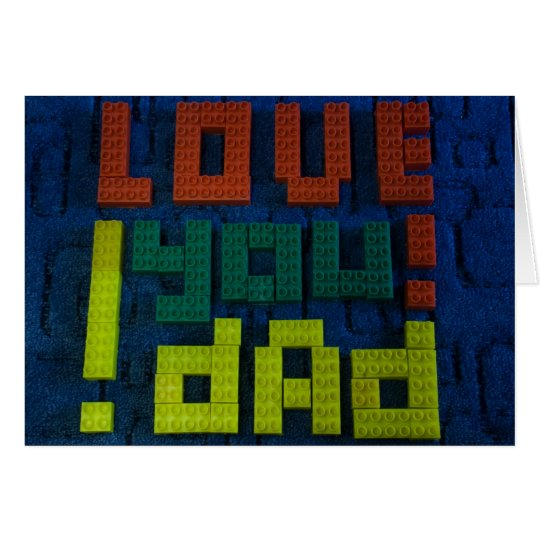 Love You Dad! Card