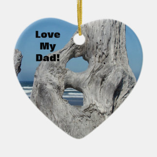 Love You Dad! ornament You're the Best Ocean