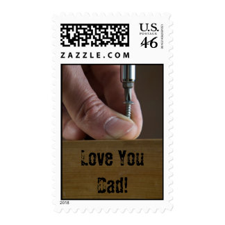 Love You Dad Postage