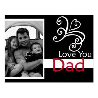Love You Dad Postcard