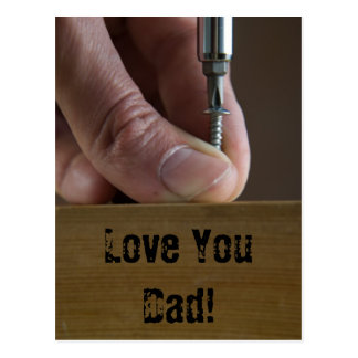 Love You Dad! Postcard