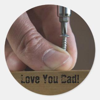 Love You Dad! Sticker