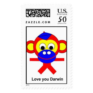 Love you Darwin Postage