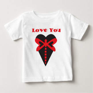 Love You Dragonfly Baby T-Shirt