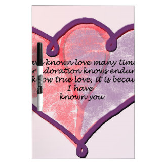 Love You Dry-Erase Board