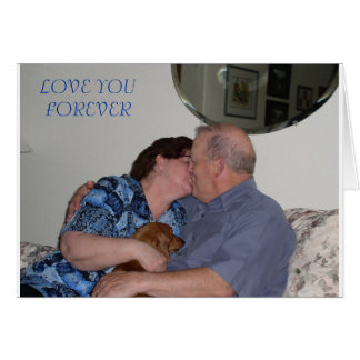 LOVE YOU FOREVER CARD