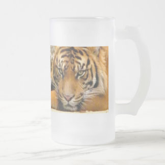 Love You_ Frosted Glass Beer Mug
