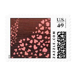 Love You Graffiti Street Art Stamps