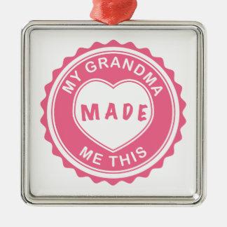 Love You, Grandma! Metal Ornament