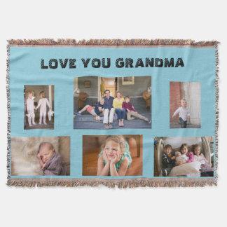 Love You Grandma Throw