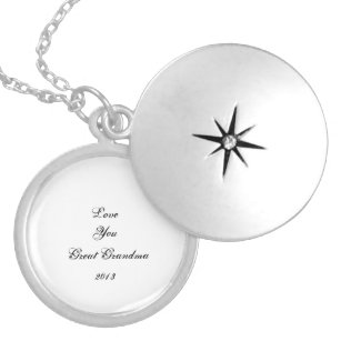 great grandmother necklaces lockets zazzle