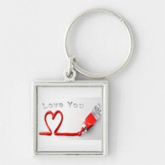 Love You Keychain