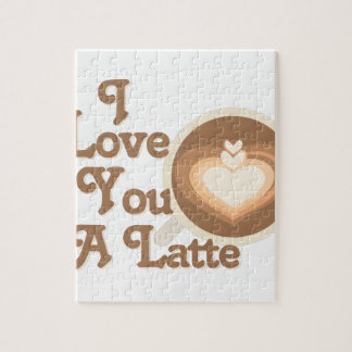 Love You Latte Jigsaw Puzzle