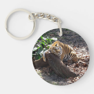 Love You Like A Rock - Bengal Tiger Keychain