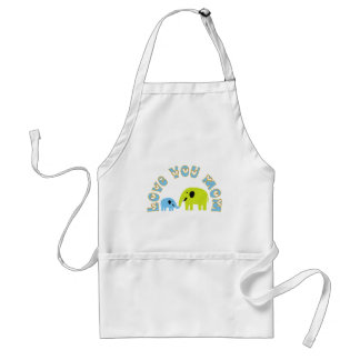 Love You Mom Aprons