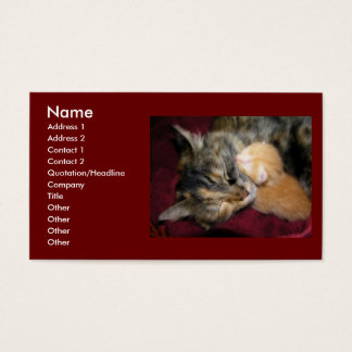 Love You Mom Business Card