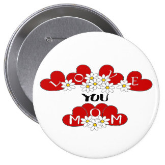 """""""love you mom"""" ❤️ Button pin  """"Lighthouse Route"""""""