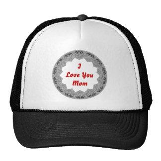 Love You Mom Hats