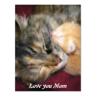 Love You Mom Magnetic Card