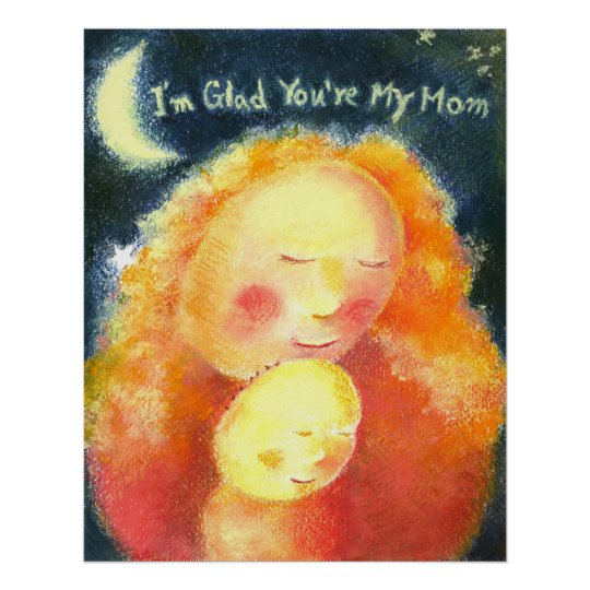 Love you, Mom: Mother's Day Poster