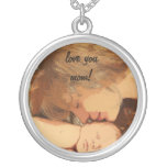 Love you mom necklace