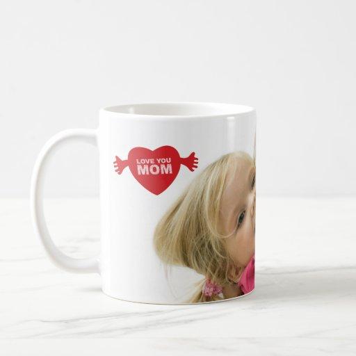 Love you Mom Photo Mug