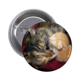 Love You Mom Pinback Button
