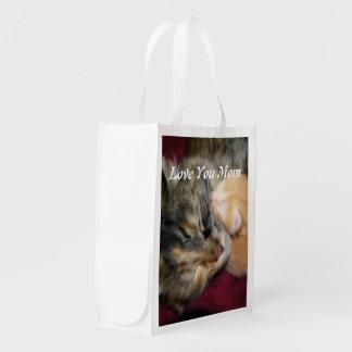 Love You Mom Reusable Grocery Bag