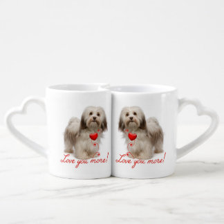 Love You More! Havanese Mug Set