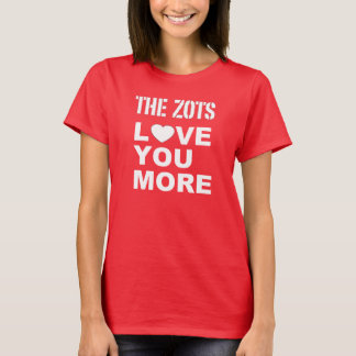 Love You More - Red Shirt