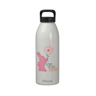 Love You More Drinking Bottle