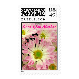 Love You Mother Postage Stamp