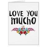 Love You Mucho Card