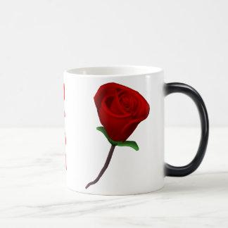 Love You Mug with Rose