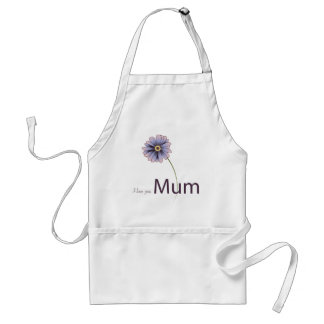 Love You Mum Adult Apron