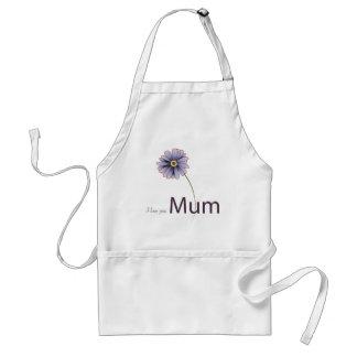 Love You Mum Adult Apron