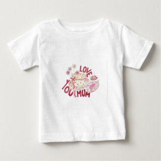 Love You Mum Infant T-shirt