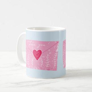 Love You Note Mug