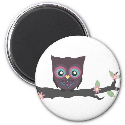 Love You Owl-ways! 2 Inch Round Magnet